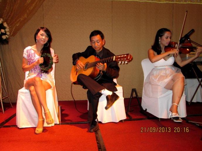 Hòa tấu Tiệc cưới tại Park Hyatt Saigon Hotel 21/09/2013