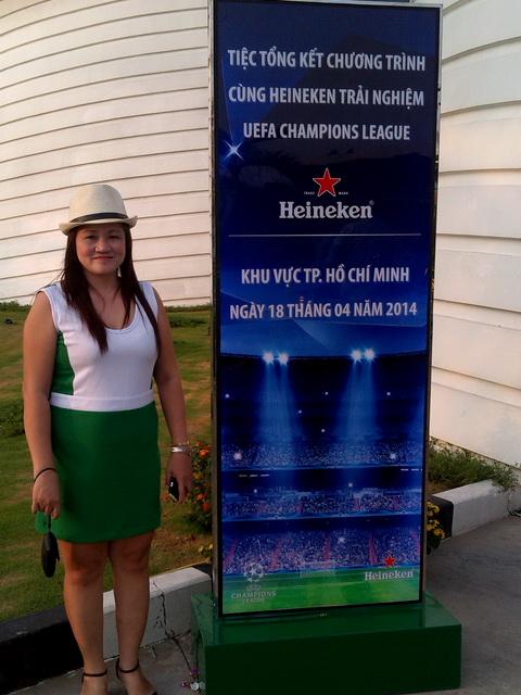 Cùng Heineken Trải Nghiệm UEFA Champions League 18/04/2014