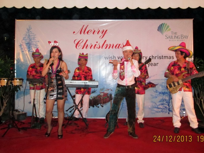 Christmas Party The Sailling Bay Resort Mũi Né 24/12/2013