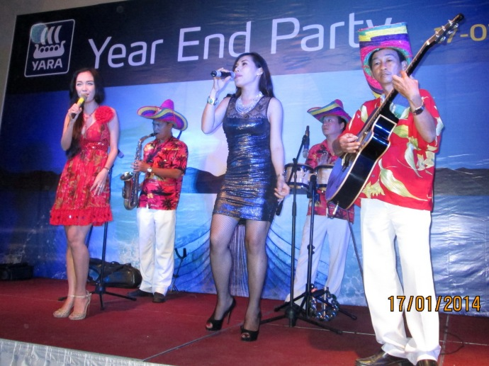 Yara Year End Party 17/01/2014 Park Royal Hotel