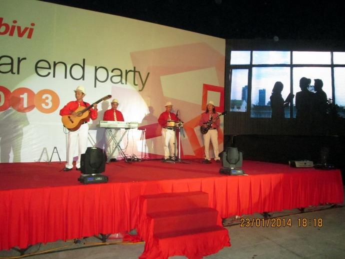 Mobivi Year End Party Đảo Kim Cương 23/01/2014