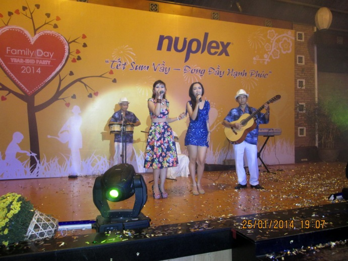 Nuplex Resins Year End Party 25/01/2014 Văn Thánh