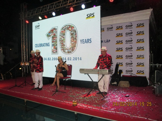 Swiss Post Solution 10th Celebrating years- Silver Creak City Resort 24/02/2014