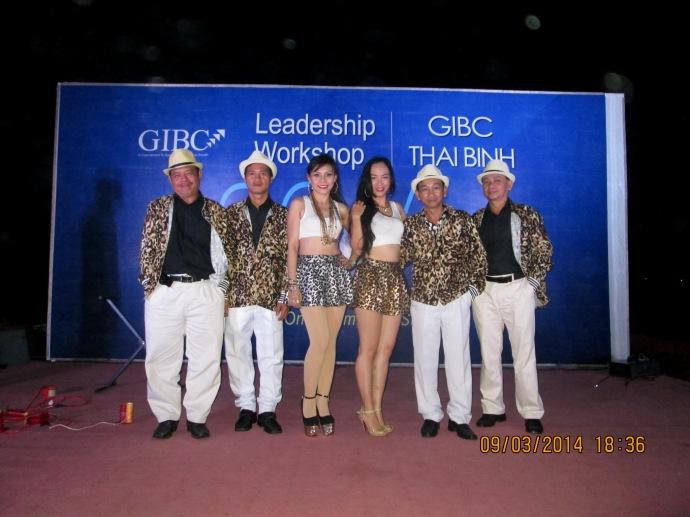 Anoasis Beach Resort Long Hải Gala Dinner 09/03/2014