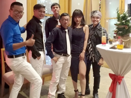 Ban Nhạc Flamenco Tumbadora Indochine Park Tower Christmas Party 001