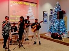 Ban Nhạc Flamenco Tumbadora Indochine Park Tower Christmas Party 002