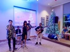 Ban Nhạc Flamenco Tumbadora Indochine Park Tower Christmas Party 003