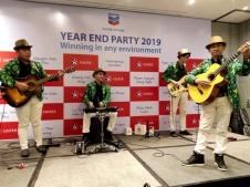 Ban Nhạc Flamenco Tumbadora Year End Party Chevron company.003