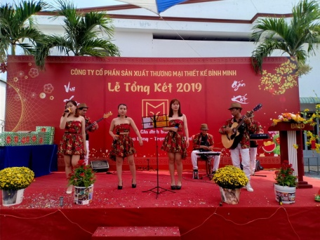 Ban Nhạc Flamenco Tumbadora Tất Niên Công Ty Thiết Kế Bình Minh 001