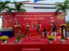 Ban Nhạc Flamenco Tumbadora Tất Niên Công Ty Thiết Kế Bình Minh 002