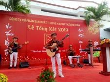 Ban Nhạc Flamenco Tumbadora Tất Niên Công Ty Thiết Kế Bình Minh 003