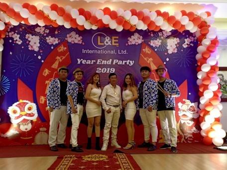 Ban Nhạc Tumbadora - L& E Year End Party 001