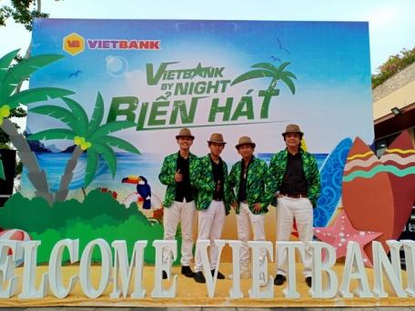 Flamenco Hawaii Tumbadora Band Year End Party Viet Bank Marina Bay Vung Tau 001