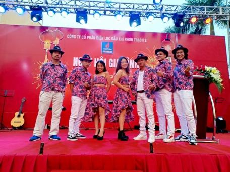 Flamenco Tumbadora Band Điện Lực Dầu Khí Year End Party 001