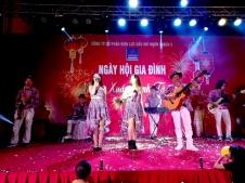 Flamenco Tumbadora Band Điện Lực Dầu Khí Year End Party 002