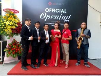 Flamenco Tumbadora Band Khai Trương Văn Phòng Viet Ceramis 002
