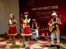 Flamenco Tumbadora Band Mobifone Year End Party 002