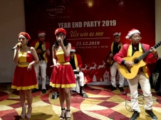 Flamenco Tumbadora Band Mobifone Year End Party 003