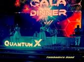 Flamenco Tumbadora Band QuantumX Gala Dinner 001