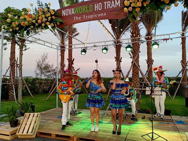 Flamenco Tumbadora Band- Ra Mắt Dự Án Nova world Hồ Tràm Tropicana 004