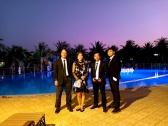 Flamenco Tumbadora Band Sealinks Resort Wedding 001