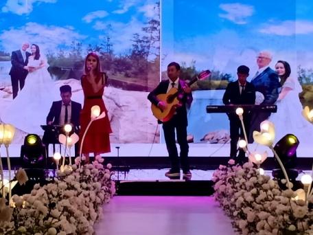 Flamenco Tumbadora Band Time Square Wedding Reception 001