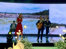 Flamenco Tumbadora Band Time Square Wedding Reception 002