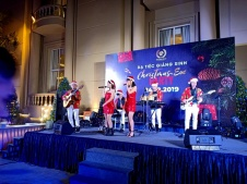 Flamenco Tumbadora Band TSN Hotel PavilionChristmas Party 002