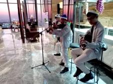 Flamenco Tumbadora Band Vinpearl Luxury Land Mark 81 Christmas Party 001