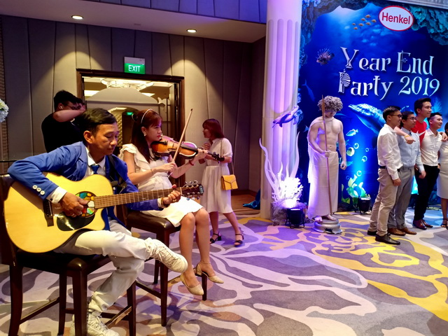 Flamenco Tumbadora Band YEAR END PARTY HENKEL 004
