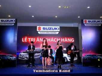 Tumbadora Band Suzuki Hồng Phương Gala Dinner 001