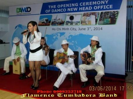 Acoustic-Tumbadora-Band-03-06-2014-Khai- Truong-Damco-New-Head-Office