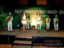 Ban-Nhac-Flamenco-Tumbadora-04-07-2013-The-8th-Heineken-Quality-Award-Inter-Continental-Hotel