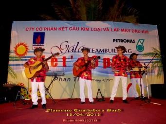 Ban-Nhac-Flamenco-Tumbadora-13-04-2013-Petronas-Gala-Dinner-Sea-Lion-Ke-Ga-Phan-Thiet-Resort