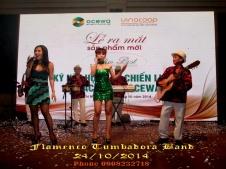 Ban-Nhac-Flamenco-Tumbadora-24-10-2014-Le-Ra-Mat-San-Pham-Moi-Slimbest-Ocewa-TTHN-White-Palace