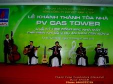 PV GAS Tower Ceremony Tumbadora-Semi-Classical-Band-16-07-2011