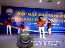 Ban-Nhac-Flamenco-Tumbadora-13-10-2016-Hop-Mat-Doanh-Nhan-Chao-Mung-Ngay-Doanh-Nhan-Vn-Sunrise-Tay-Ninh