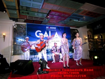 Ban-Nhac-Flamenco-Tumbadora-Mekong-Gala-Dinner-The-Imperial-Vung-Tau-Hotel