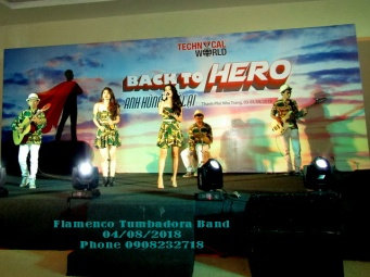 Ban-Nhac-Flamenco-Tumbadora-VTH-Gala-Dinner-Diamond-Bay-Nha-Trang-Resort