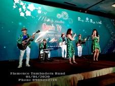 Ban Nh?c Flamenco Tumbadora - Tri ân Khách Hàng - Tr?n Anh Group 002