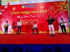Ban Nh?c Tumbadora Hutech Year End Party 002