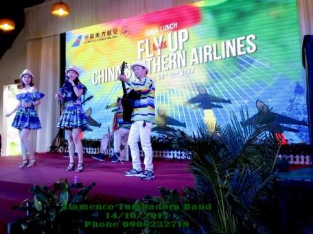 Flamenco-Tumbadora-Band-14-10-2017-China-Southern-Aiirline-Gala-Lunch
