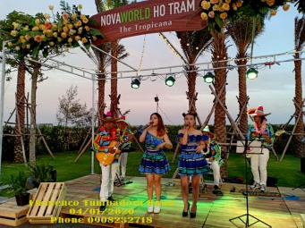 Flamenco Tumbadora Band- Ra M?t D? Án Nova world H? Tràm Tropicana 004