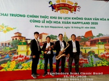 Tumbadora Semi Classic Band- Happy Land Grand Opening-001
