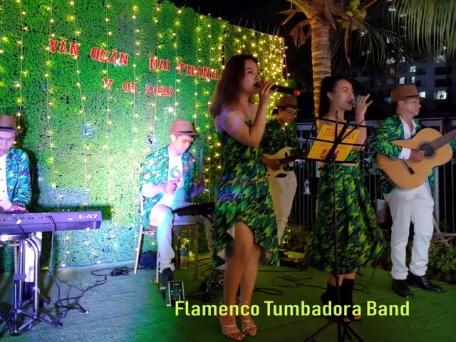 Flamenco Tumadora Band- Wedding Party- Valora Mizuki Park 001